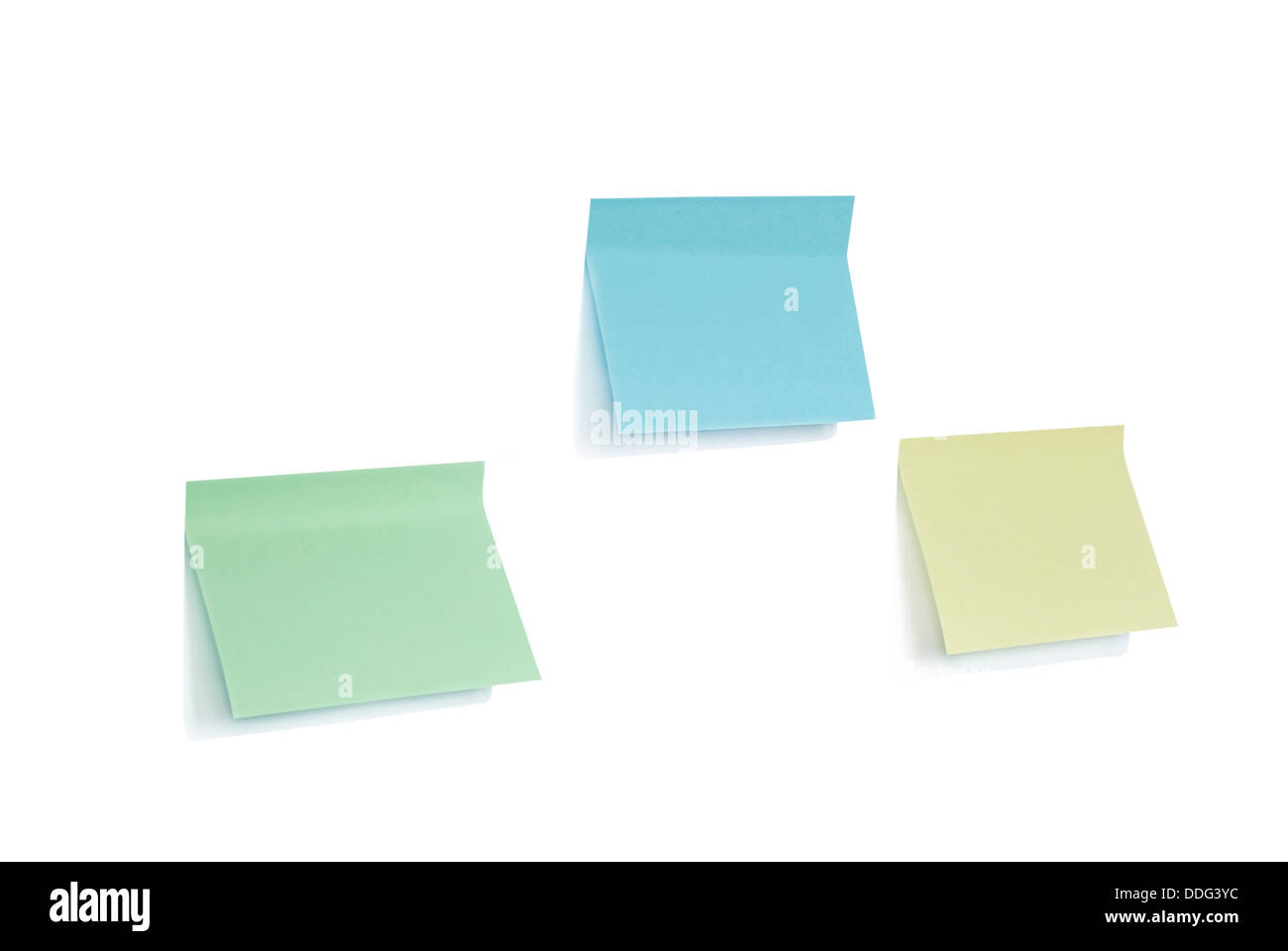 note  blank - Stock Image