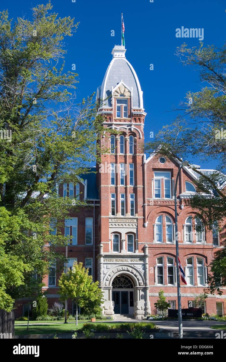 Barge Hall, Central Washington University CWU, Ellensburg, Kittitas county, Washington WA, USA - Stock Image