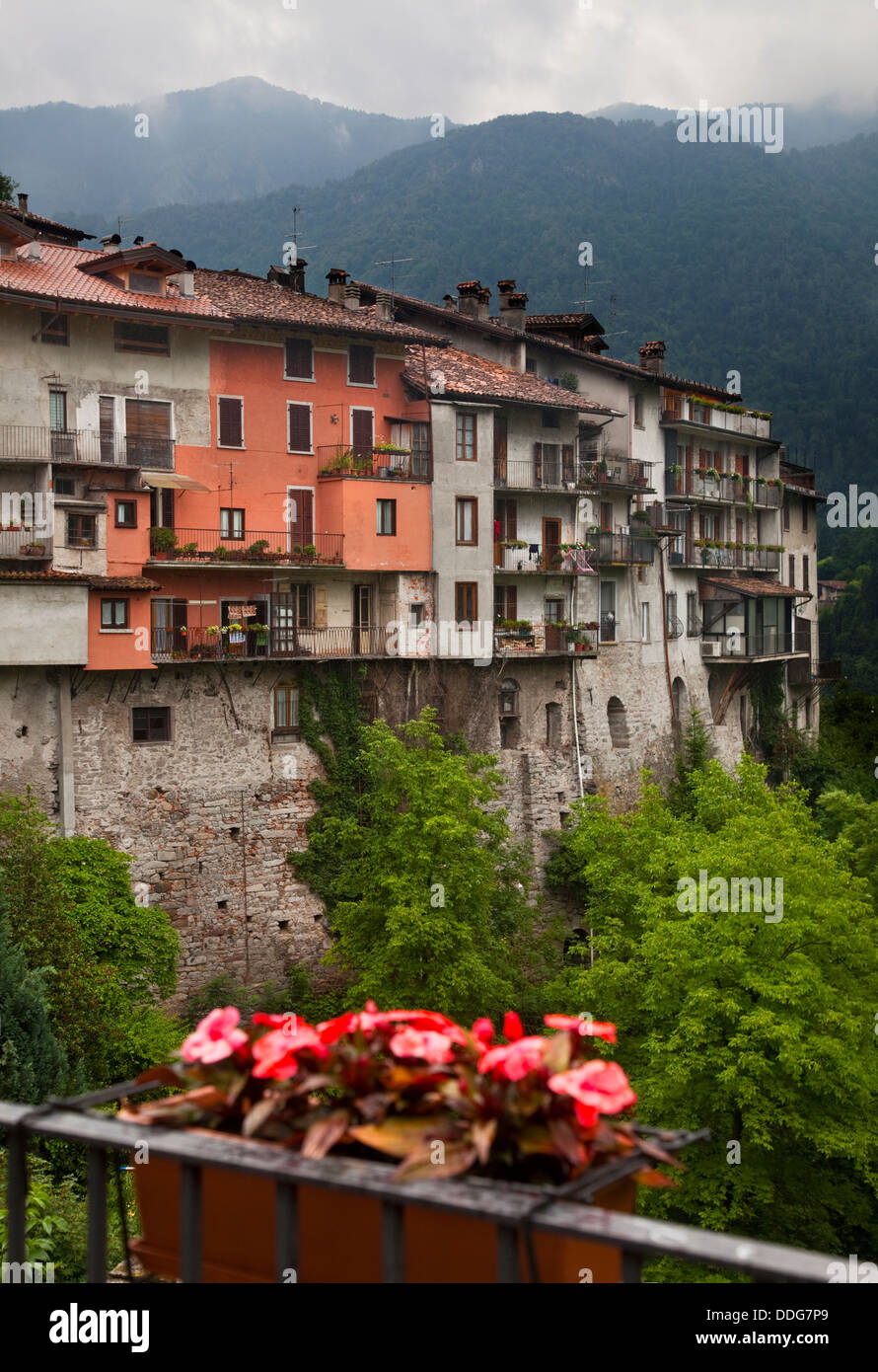 Bagolino, Trentino, Italy Stock Photo