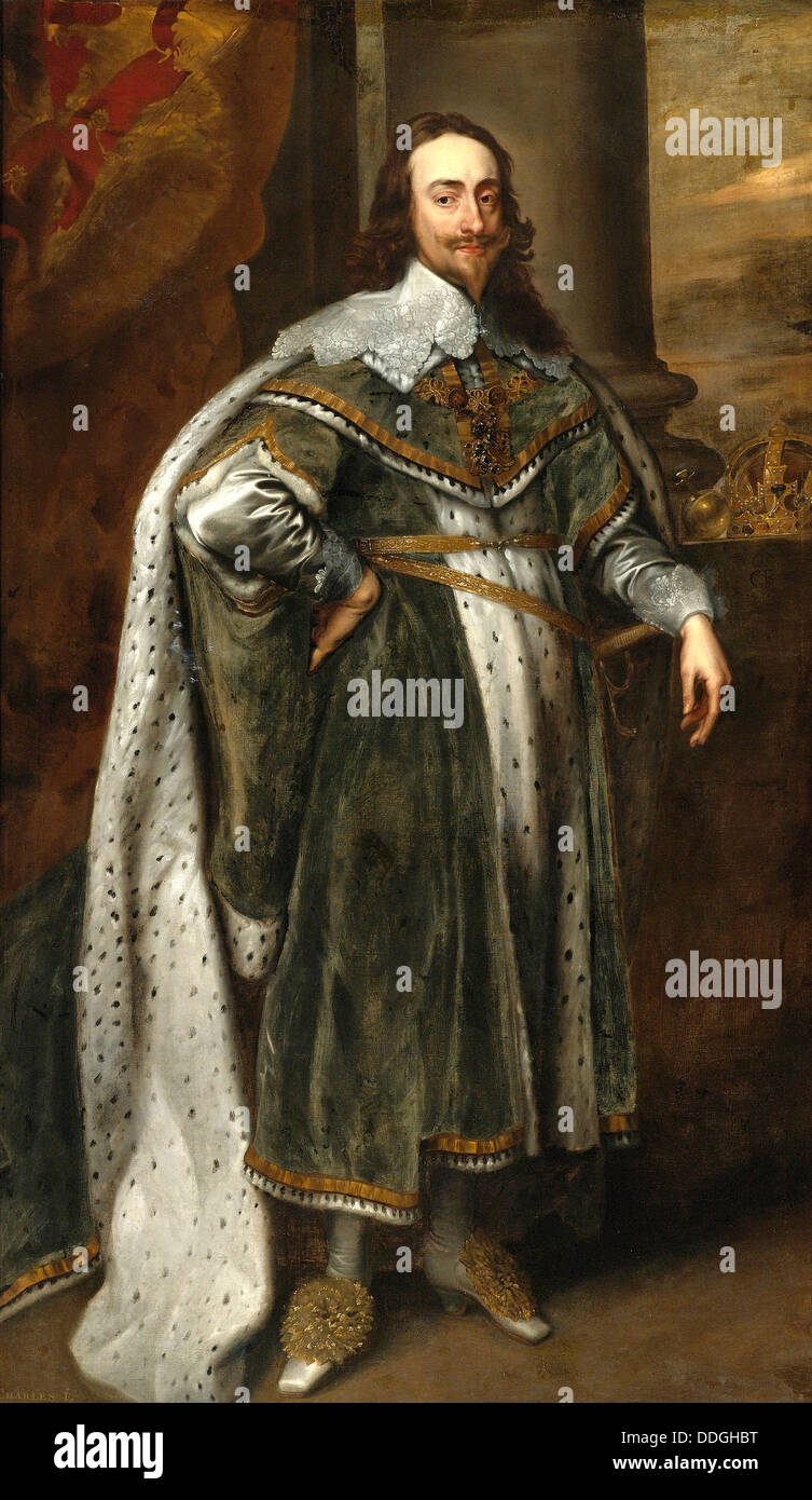 King Charles I of England, Scotland, and Ireland - Stock Image