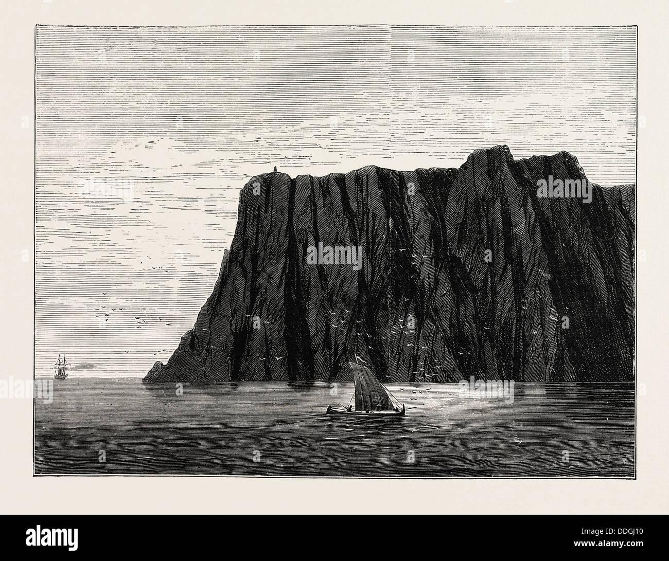 THE NORTH CAPE - Stock Image