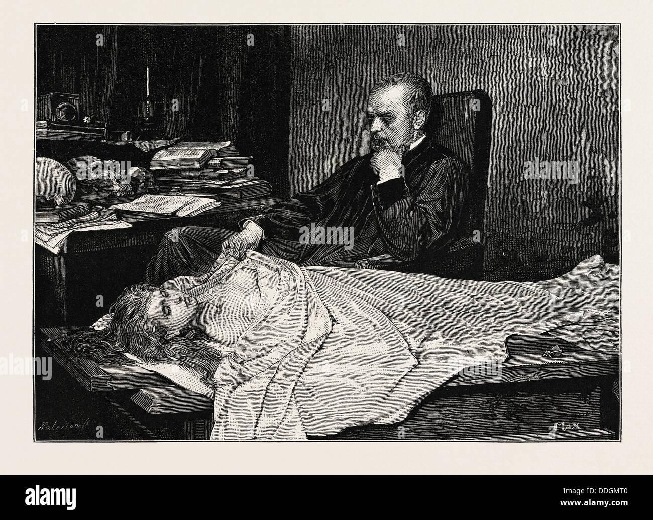 The Anatomist - Stock Image