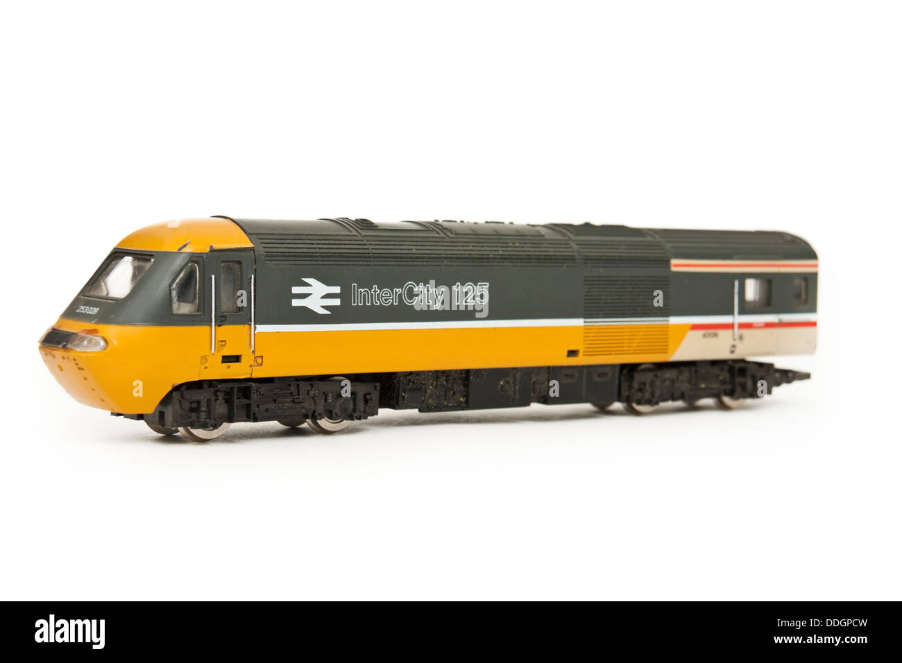 British Rail InterCity 125 model railway locomotive Stock Photo