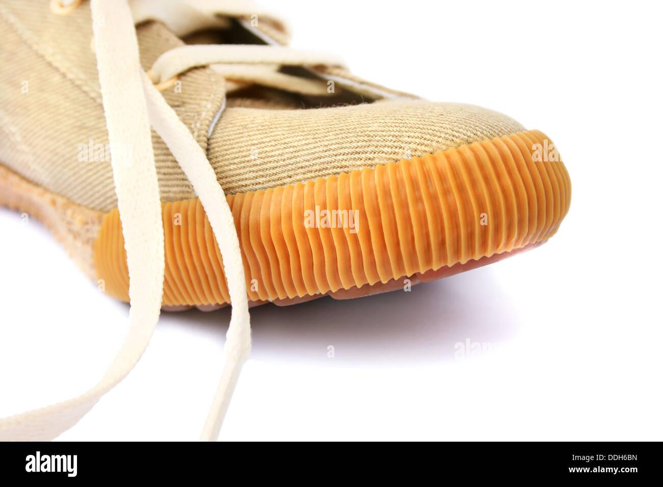Shoe isolated on white background. - Stock Image