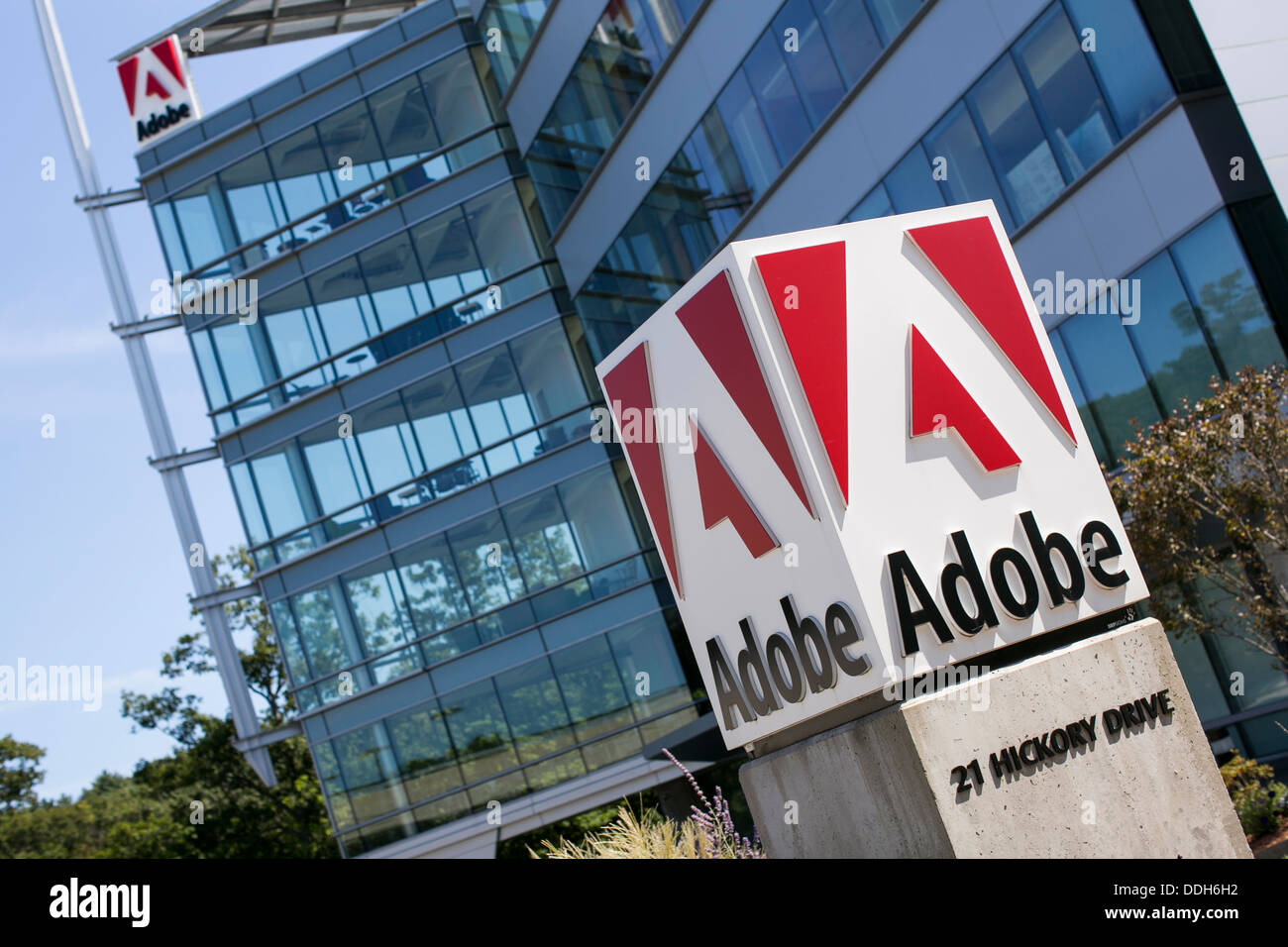 adobe corporate office. An Office Building Occupied By Adobe Systems. Corporate
