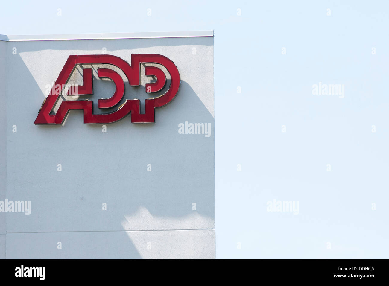 An office building occupied by Automatic Data Processing (ADP). - Stock Image
