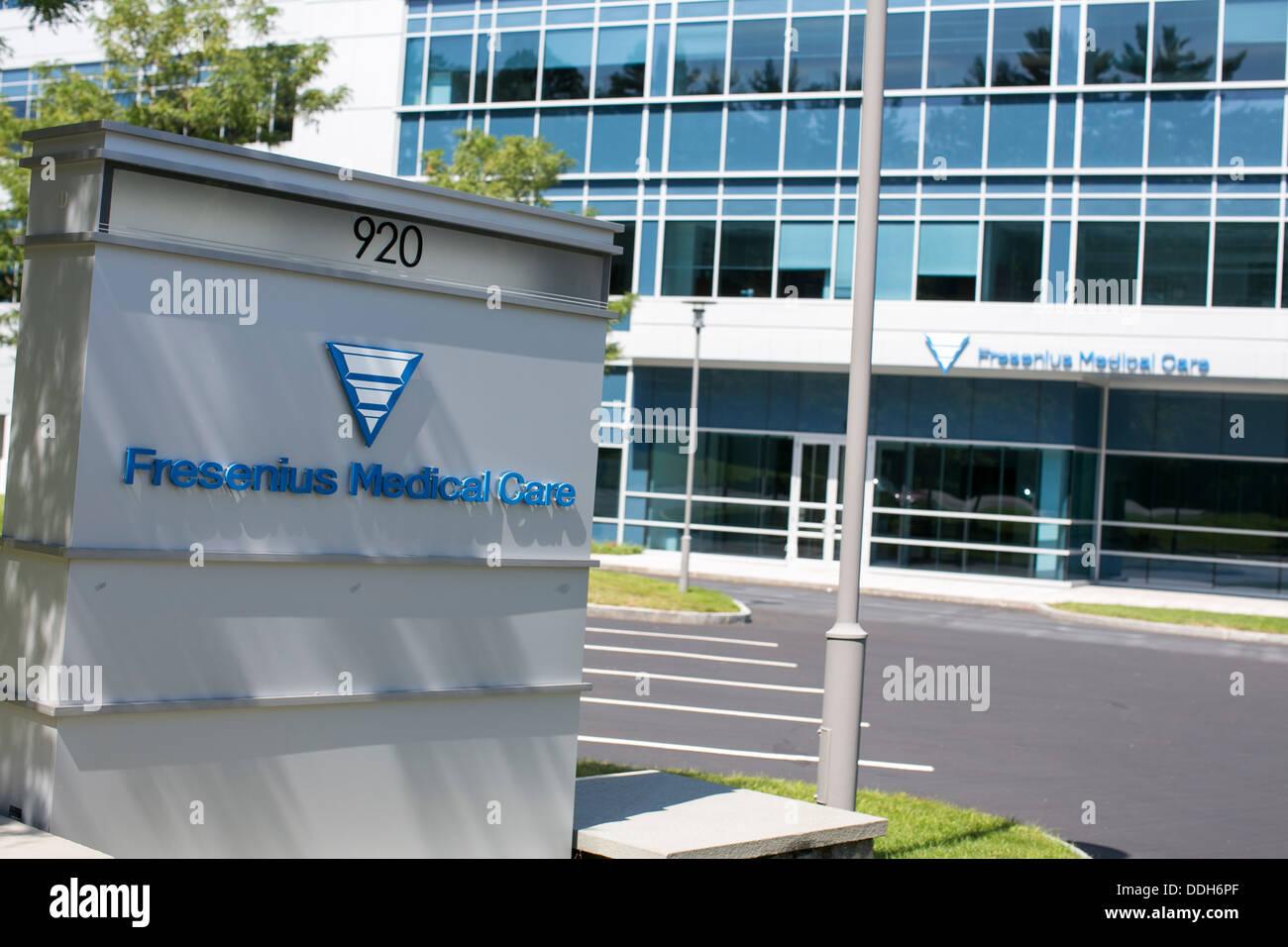 The headquarters of Fresenius Medical Care North America. - Stock Image