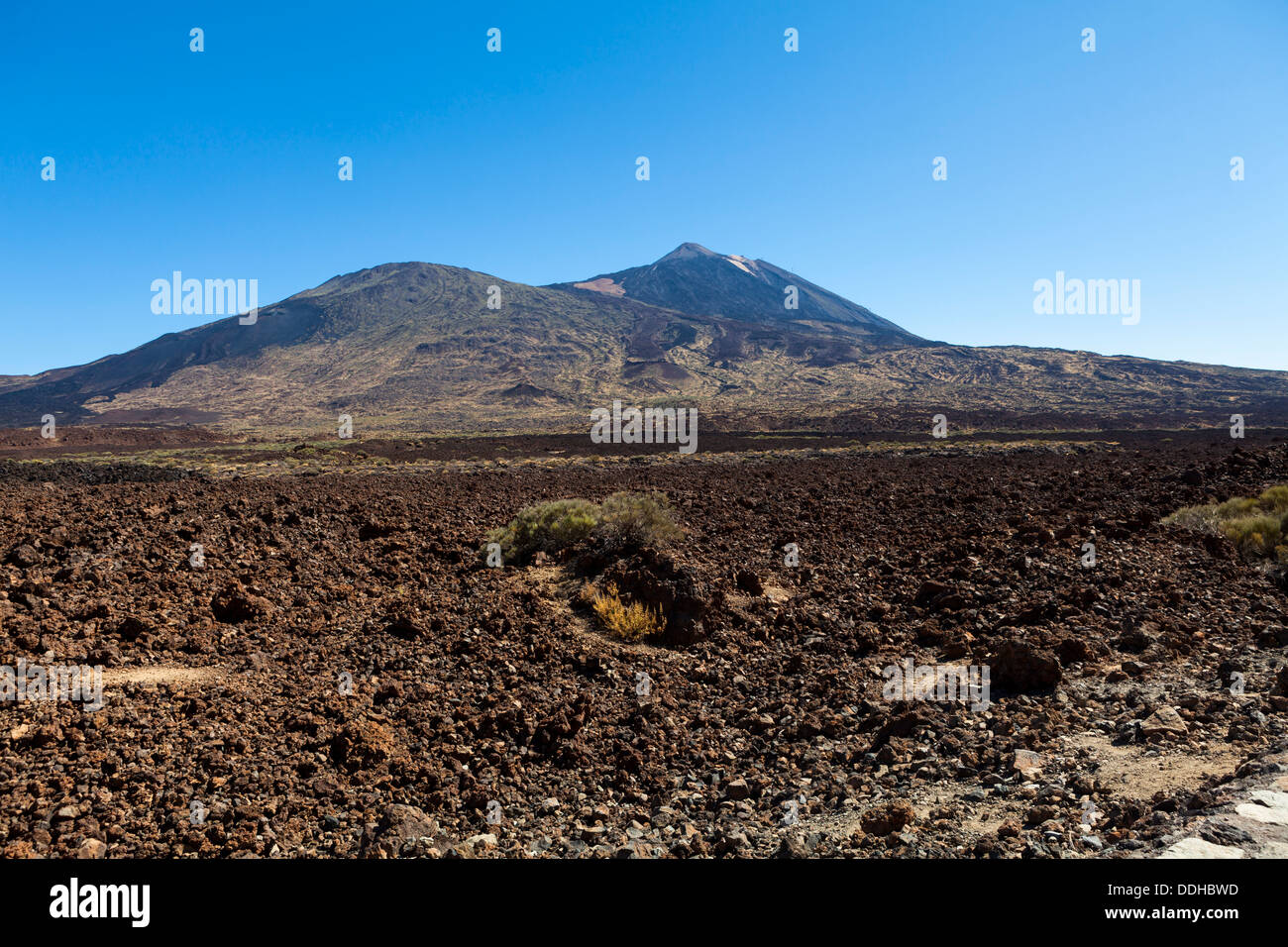 Spain, View of Teide National Park - Stock Image