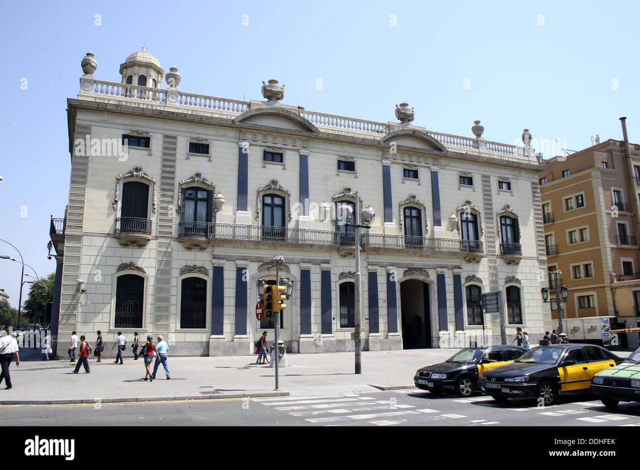 House Pla | Govern Civil Former Customs House Pla De Palau Barcelona Spain