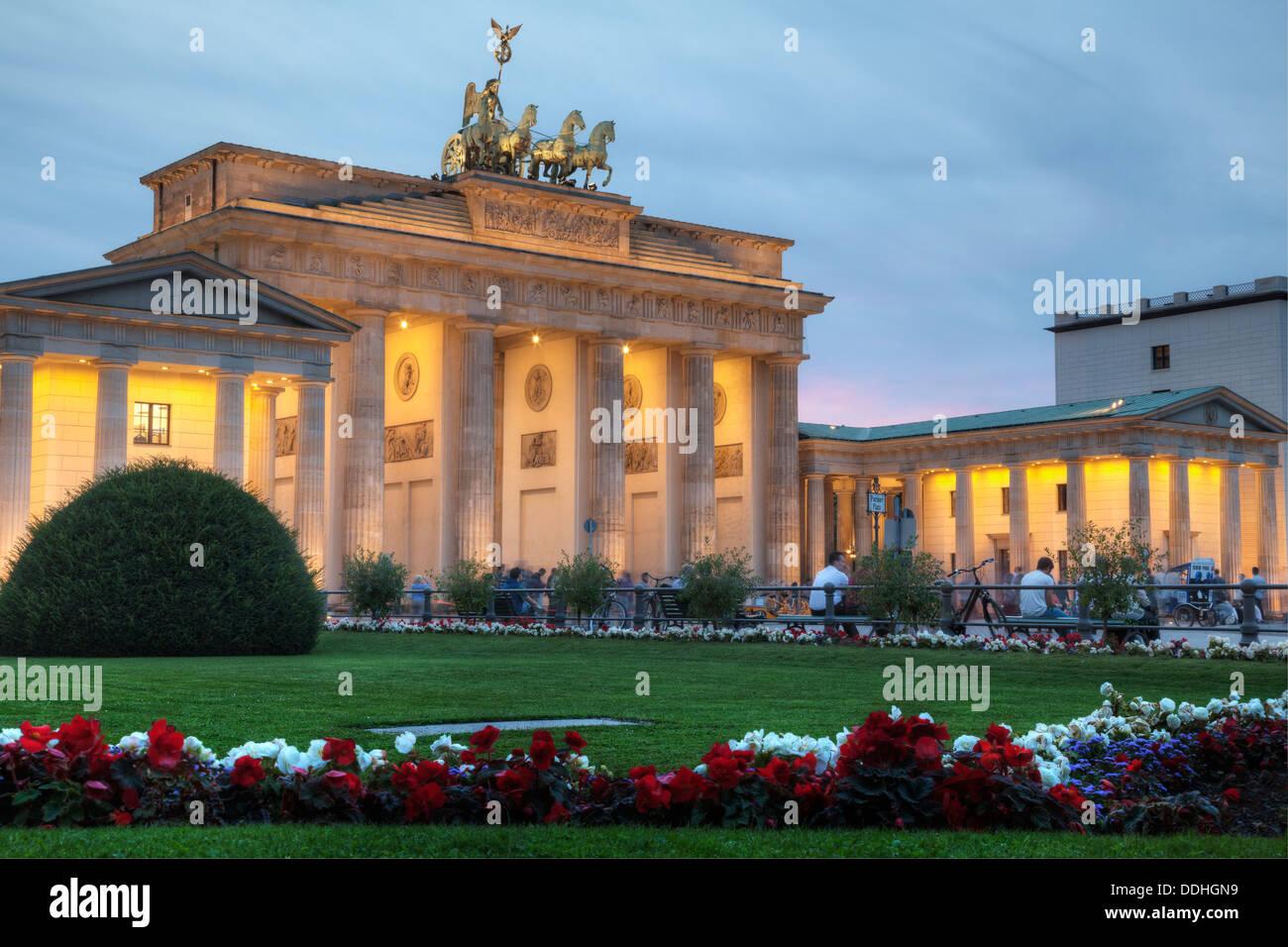 Brandenburg Gate, Berlin, Germany Stock Photo