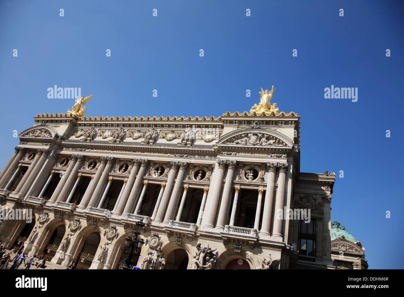 France, Paris, Garnier Opera House - Stock Image