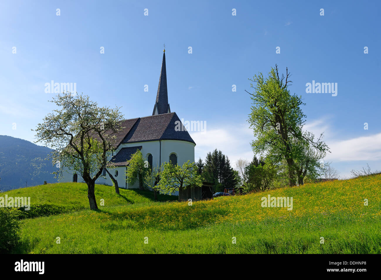 Holy Blood pilgrimage church, also Kappelkirche - Stock Image
