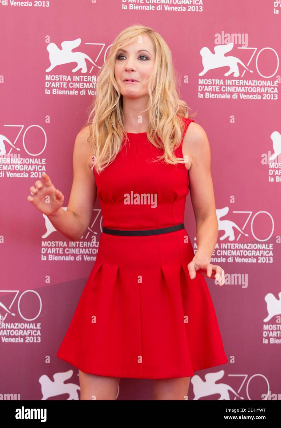 JOANNE FROGGATT STILL LIFE PHOTOCALL 70TH VENICE FILM FESTIVAL LIDO VENICE  ITALY 03 September 2013 - Stock Image