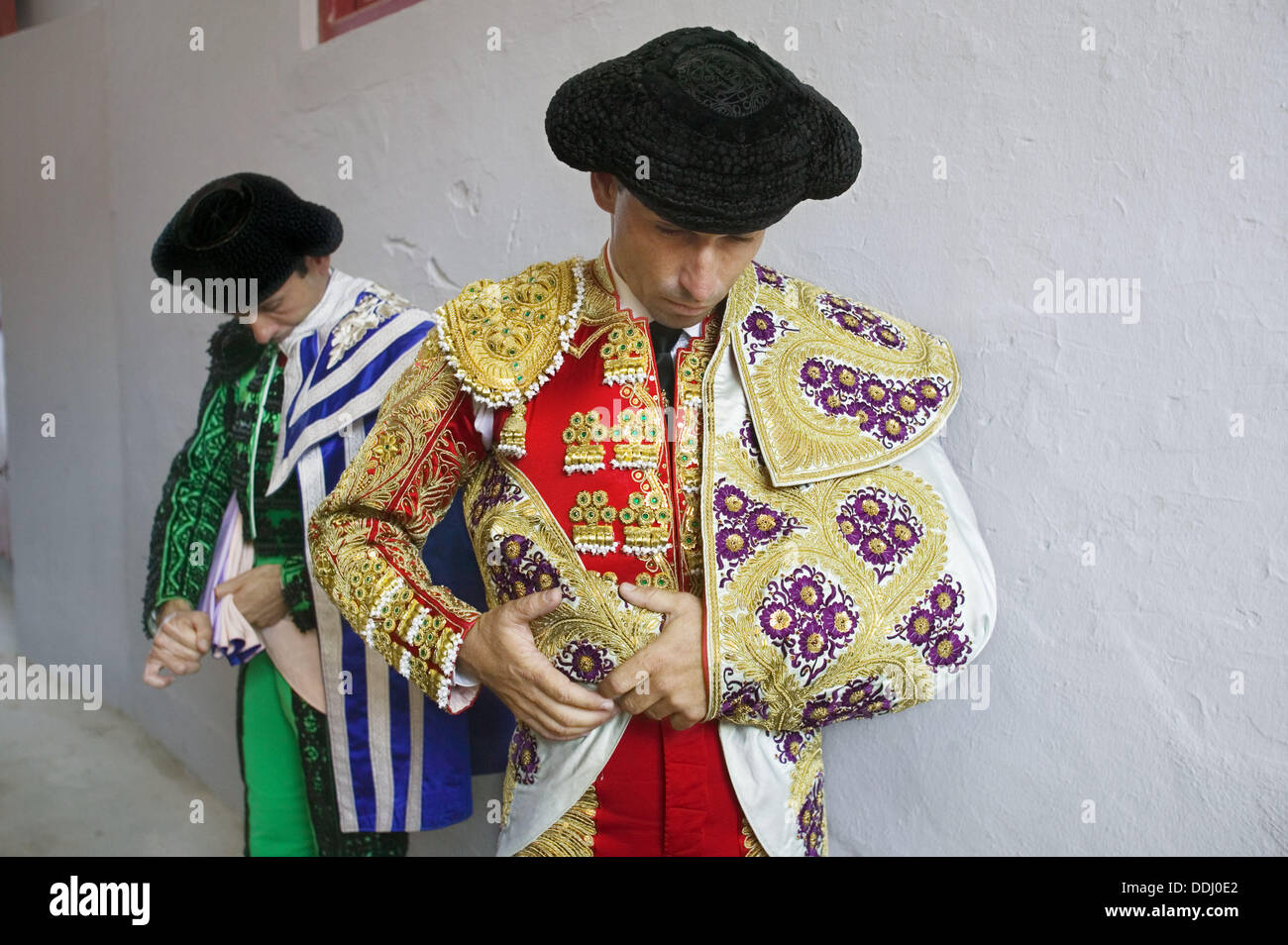 Bullfights. San Fermin Festival, Pamplona. Navarra, Spain Stock Photo