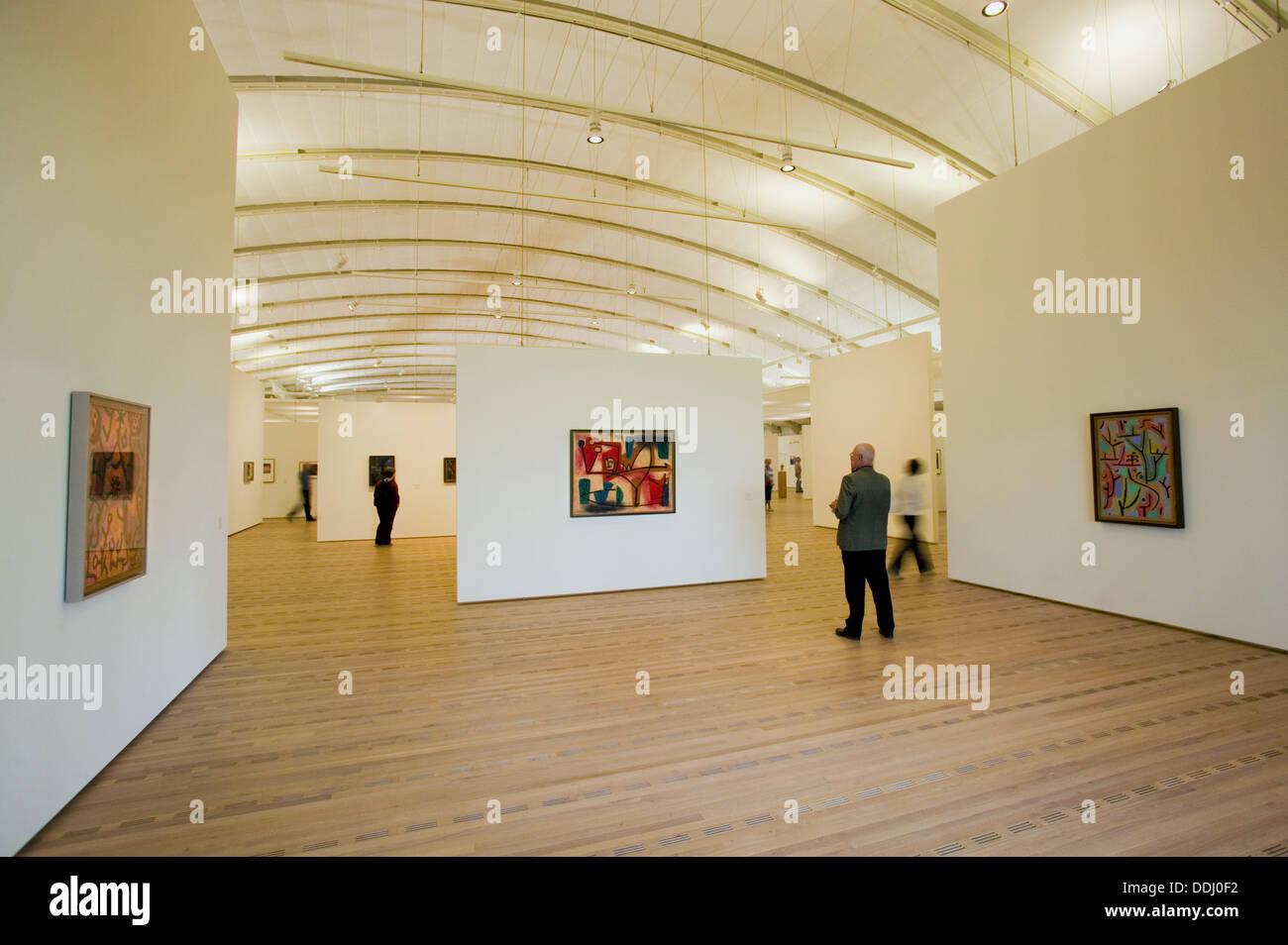 Paul Klee Center by  Renzo Piano. Bern. Switzerland - Stock Image