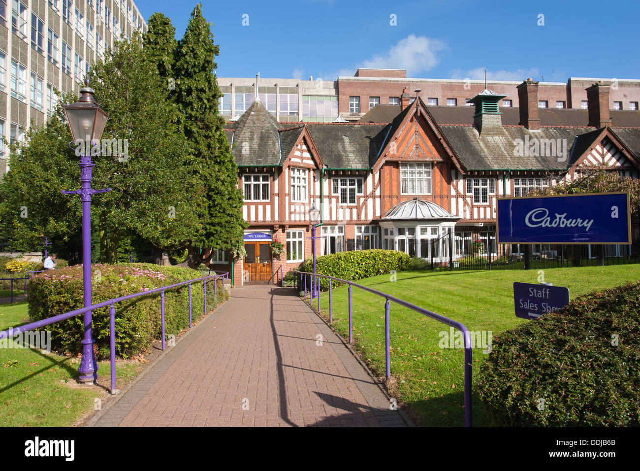 Bournville Village The Home Of The Cadbury Chocolate Factory Founded By George Cadbury In 1879 England United Kingdom