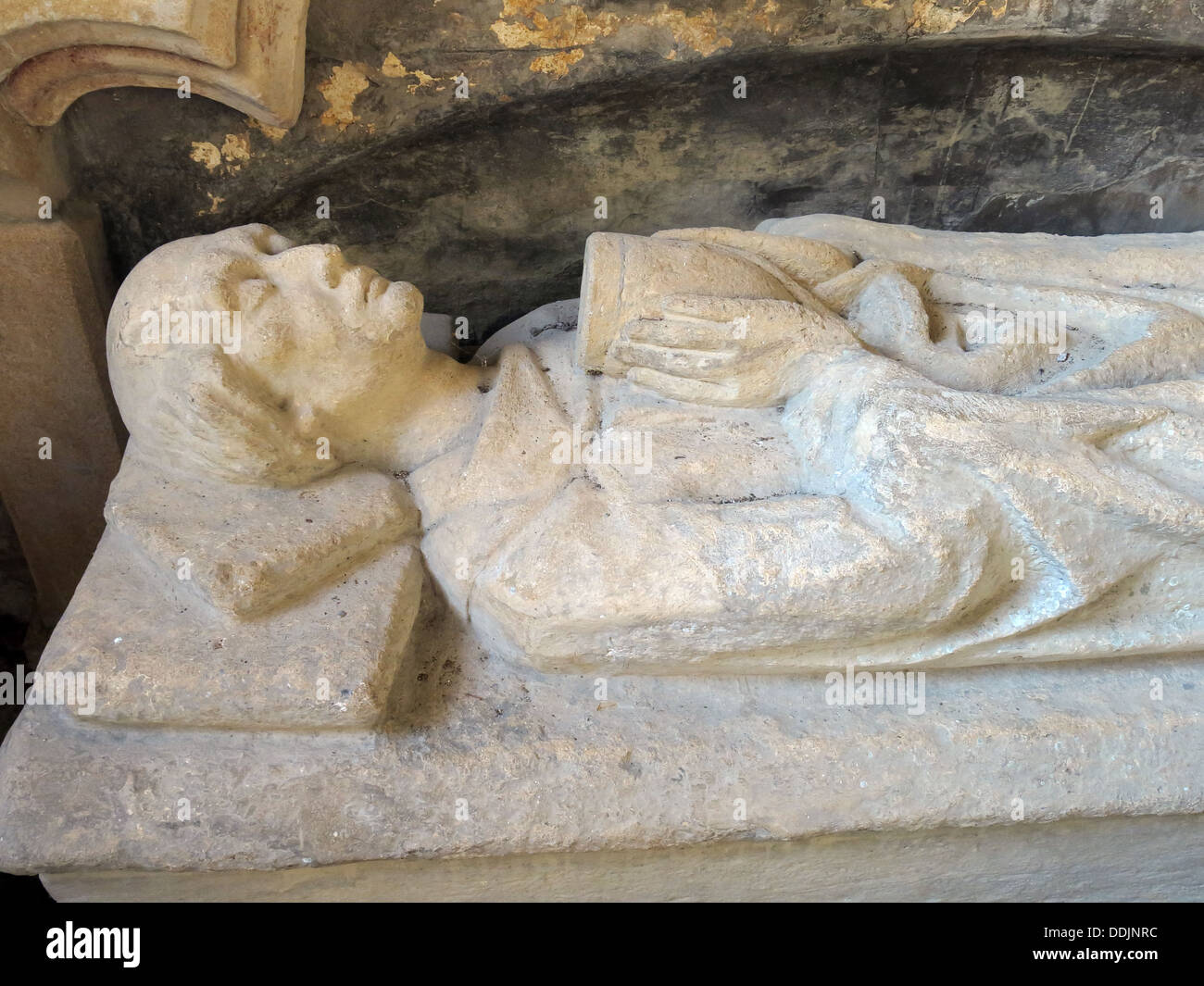 Tomb of John Sydenham, Brympton d'Evercy Stock Photo