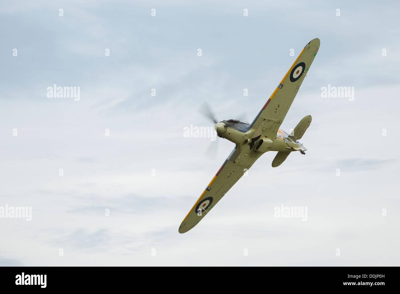 1940 Hawker Sea Hurricane at Old Warden - Stock Image