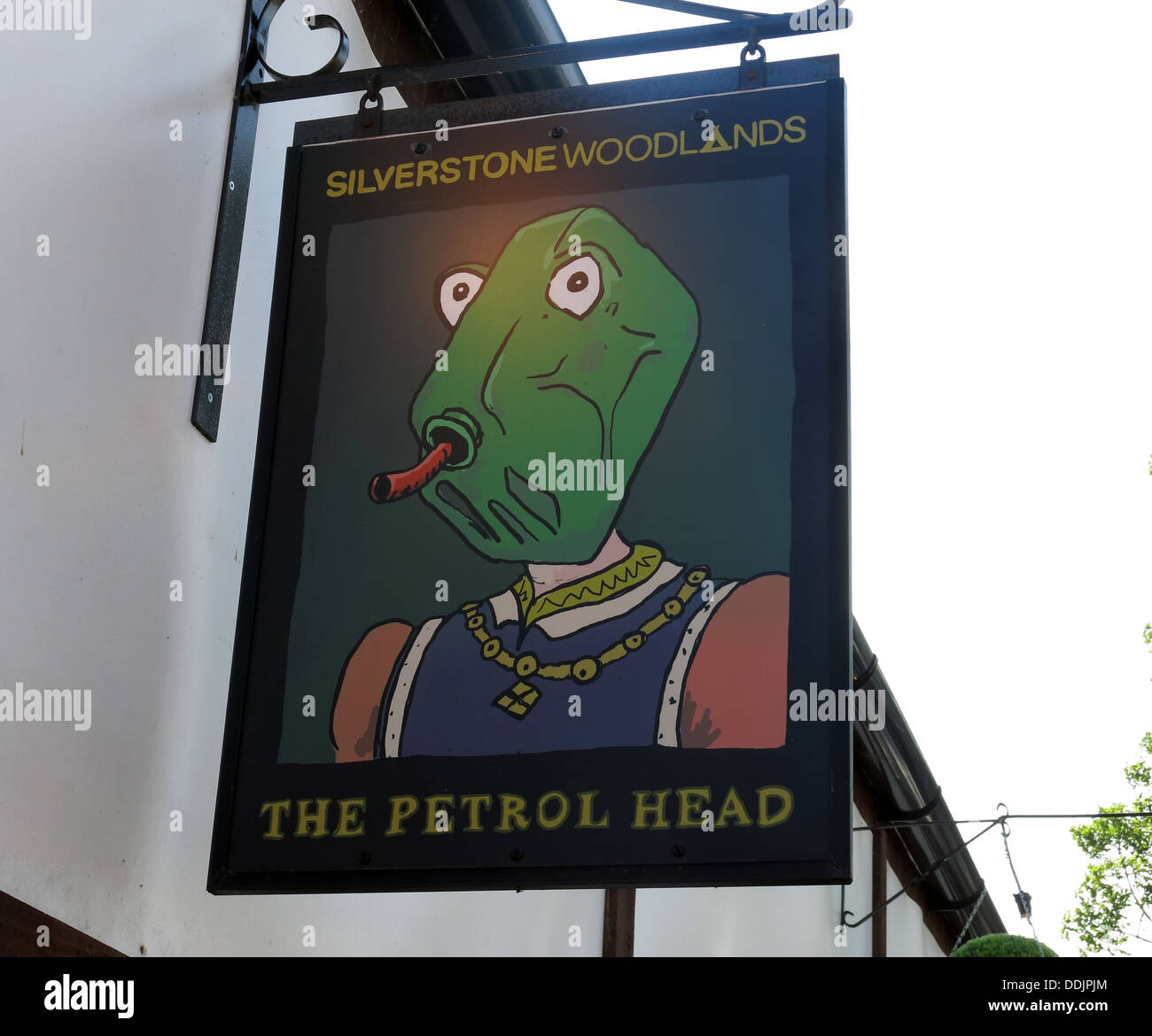 The Petrol head Pub, Silverstone, F1 British grand Prix - Stock Image