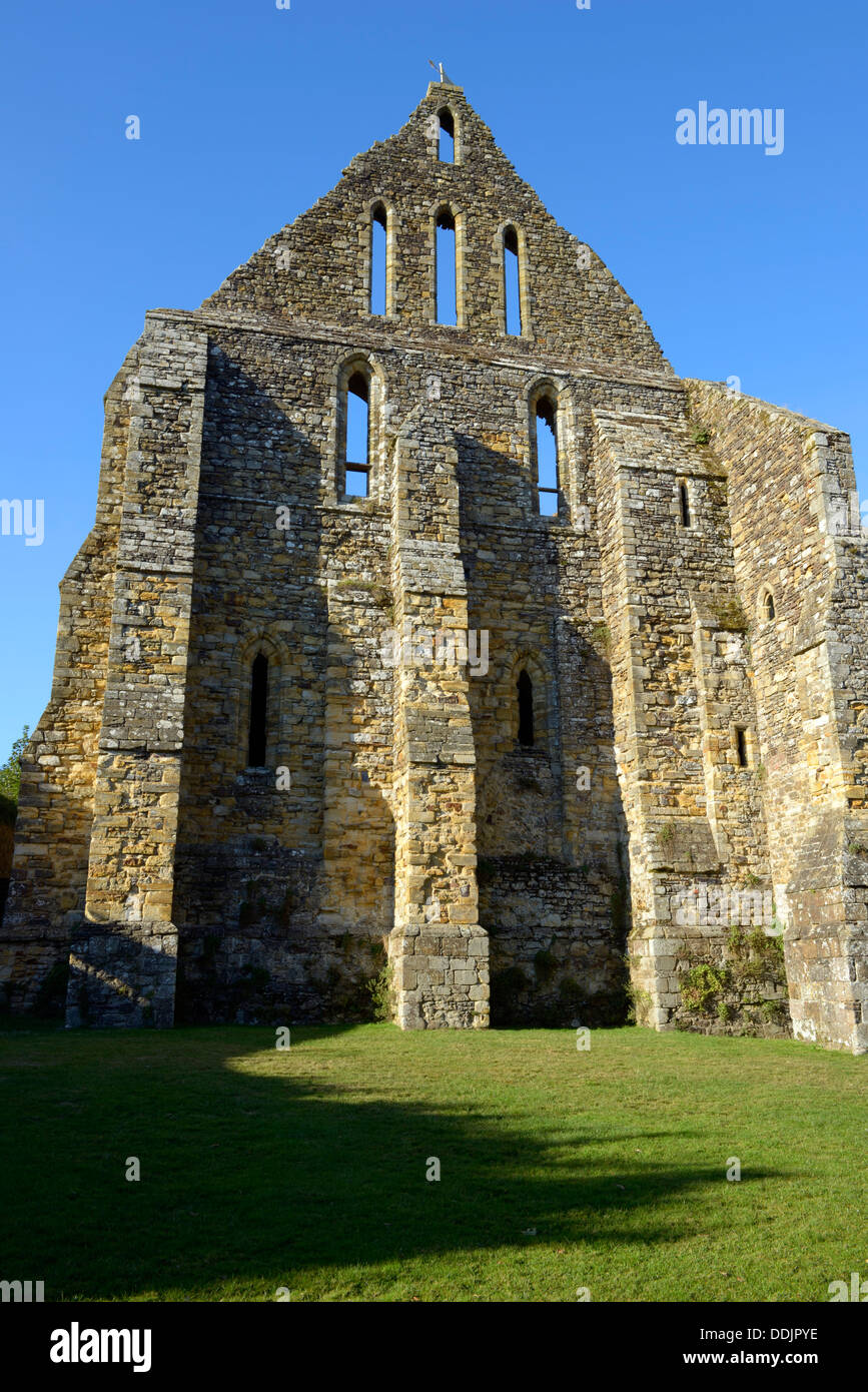 The monks' dormitory range of Battle Abbey, Battle, East Sussex, UK - Stock Image
