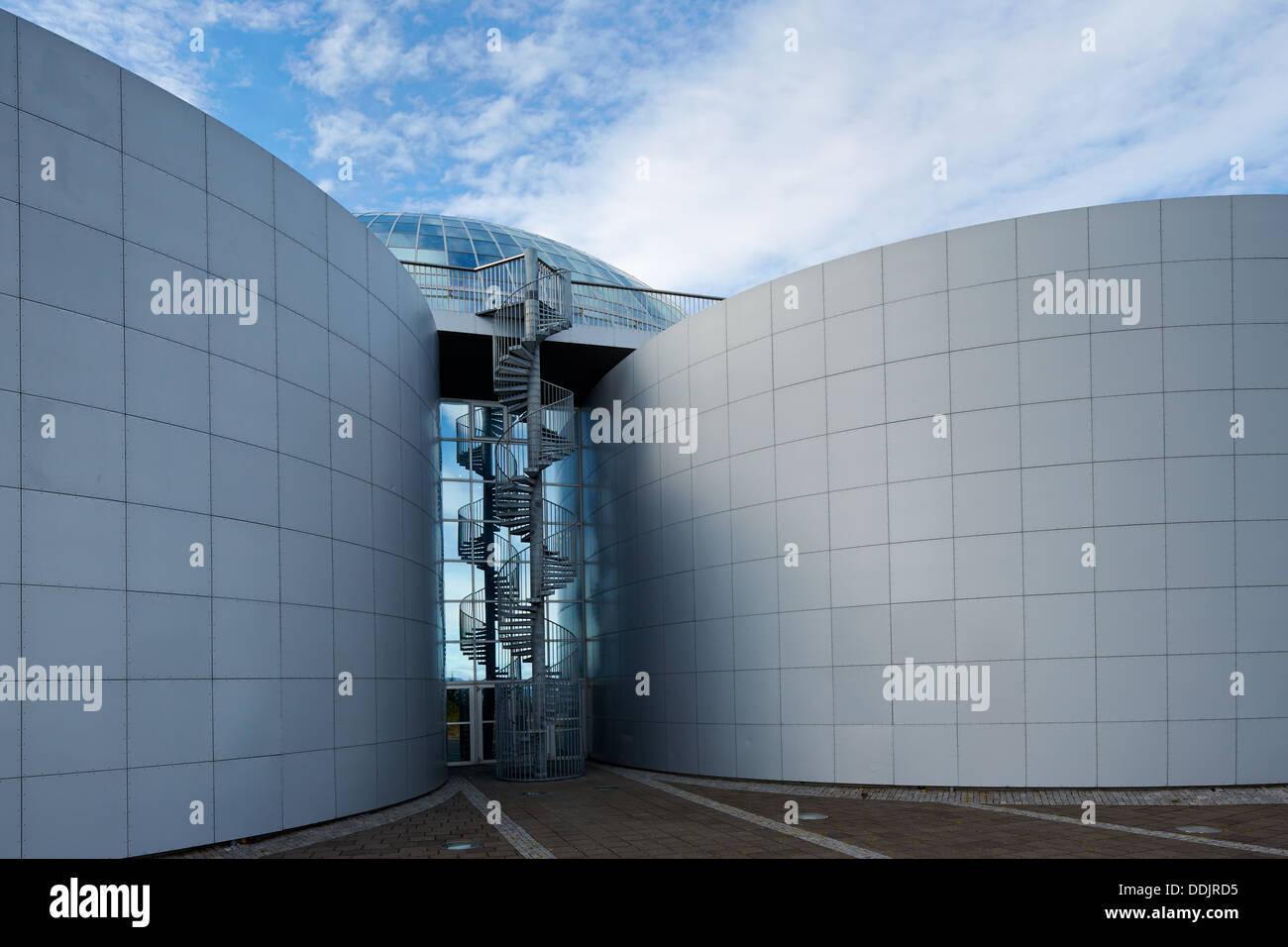 Perlan Saga Museum, Reykjavik, Iceland - Stock Image