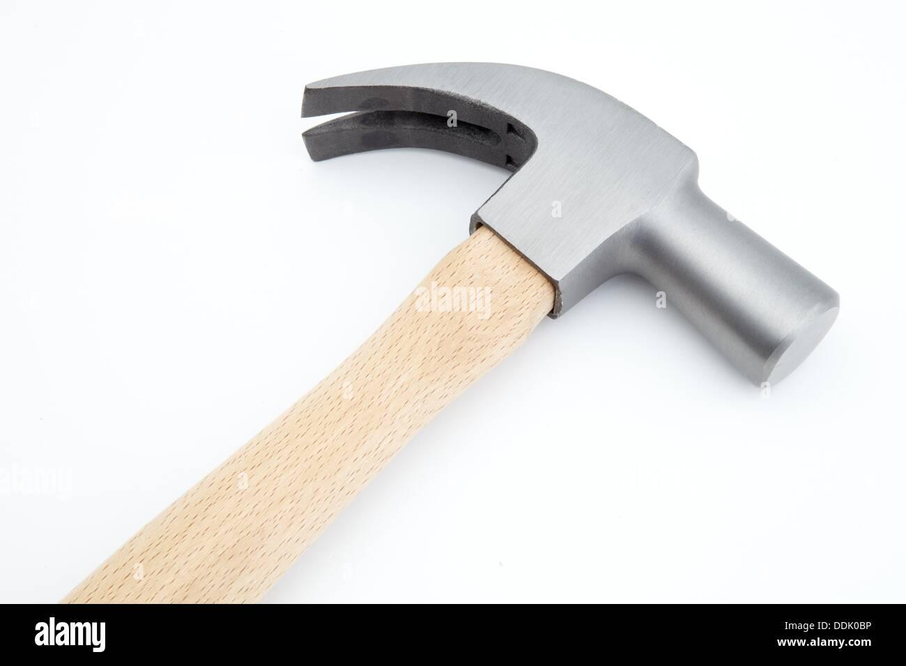American hammer, Carpentry hammer, Building hand tools Stock Photo ...