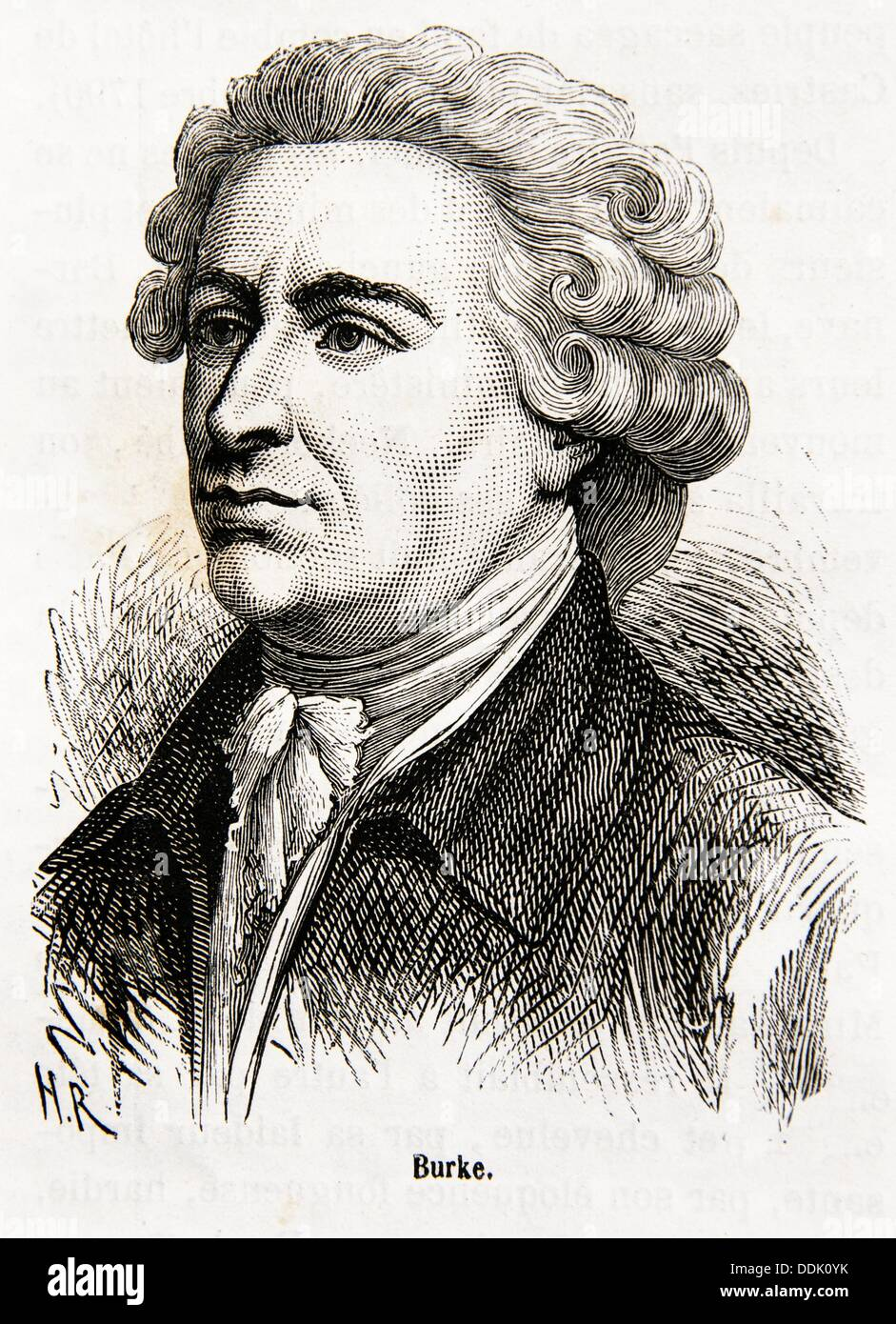 Edmund Burke PC 12 January 1729 - 9 July 1797 was an Anglo-Irish statesman,  author, orator, political theorist, and philosopher
