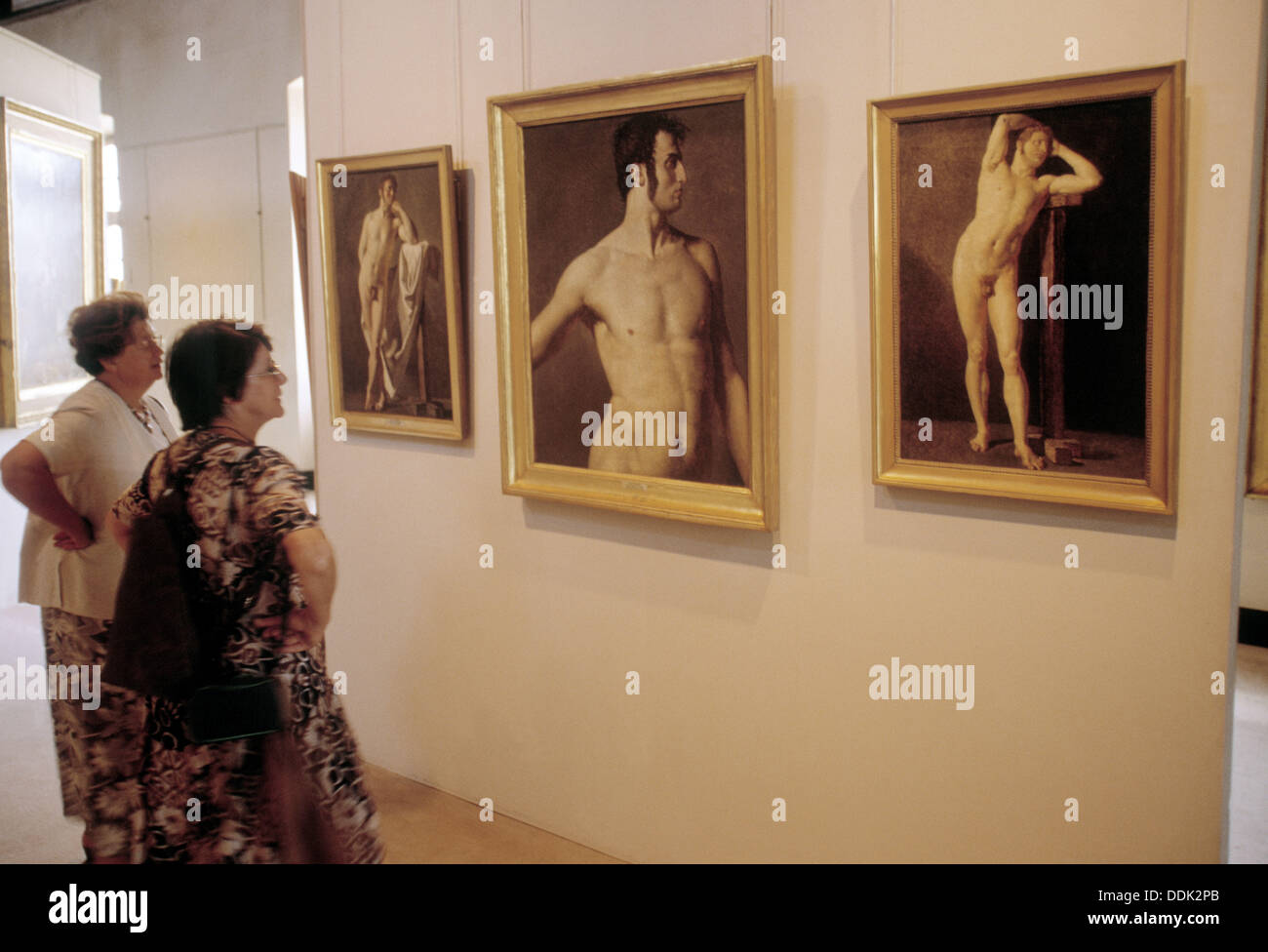 Ingres Museum at Montauban. Gascony. France. - Stock Image