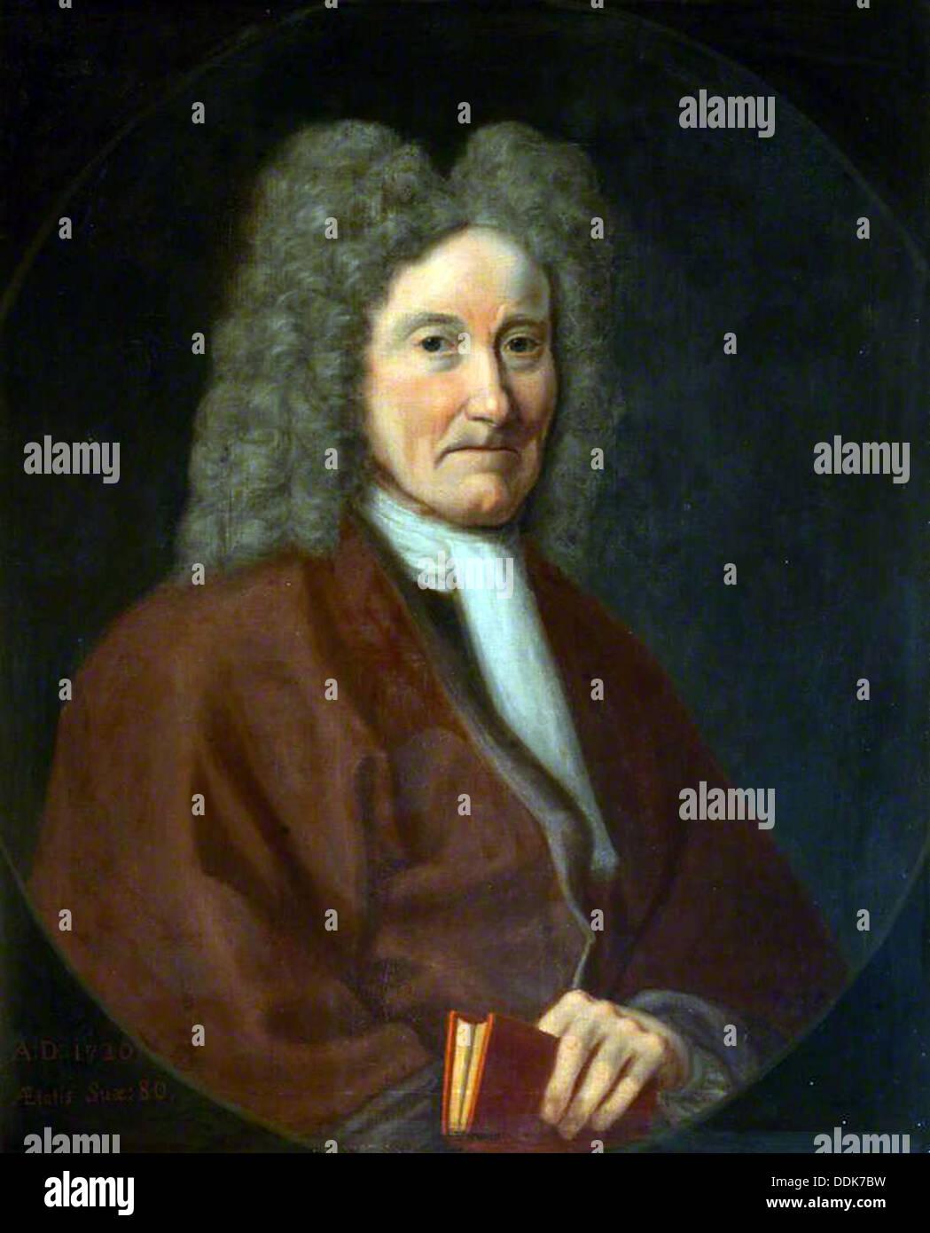 Sir Robert Sibbald 1641-1722 - Stock Image