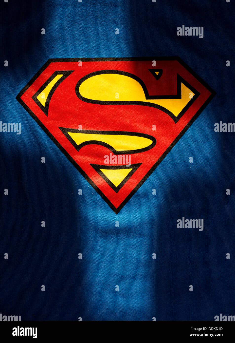 7d8aded1 Superman Logo Stock Photos & Superman Logo Stock Images - Alamy