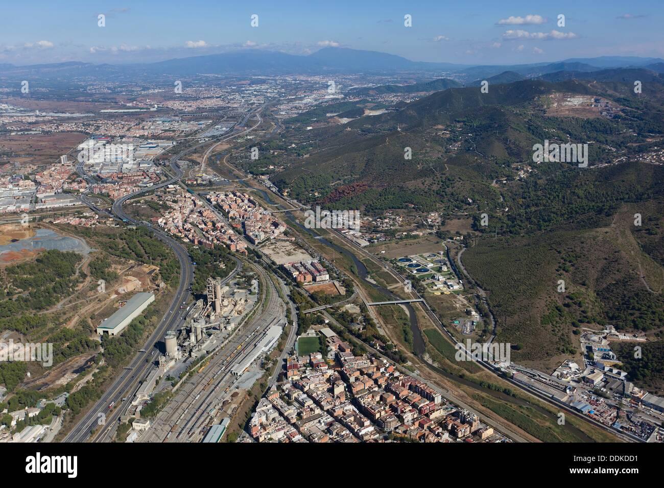 Montcada I Reixac Barcelona Spain Stock Photo Alamy