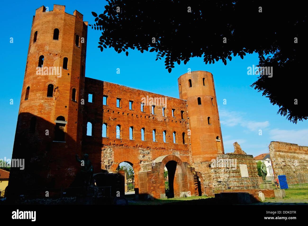 Italy, Piedmont, Turin, Palatine Towers - Stock Image