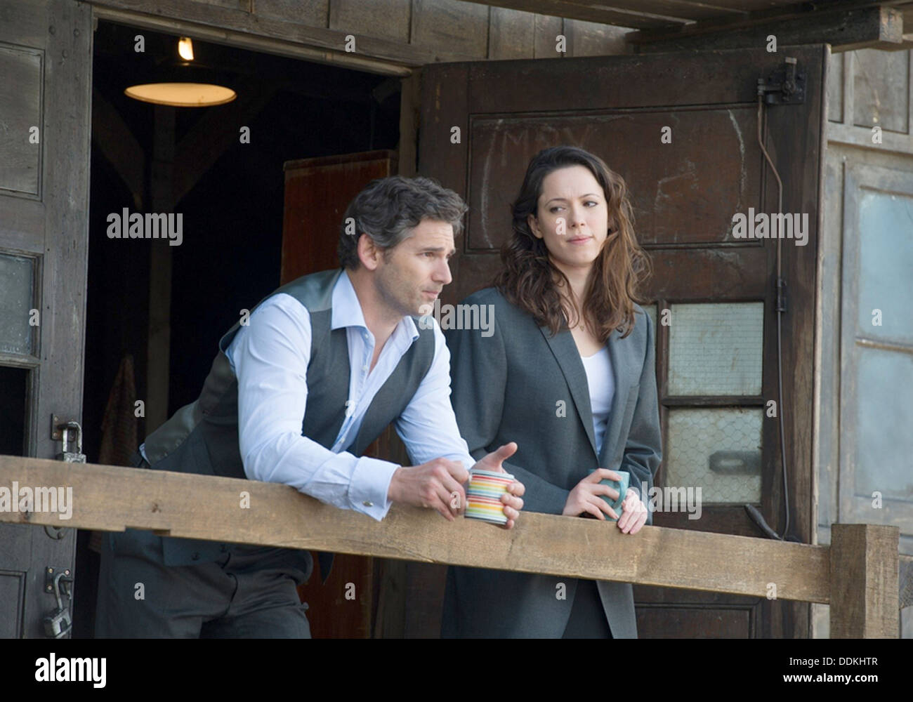 CLOSED CIRCUIT 2013 Focus Features film with Rebecca Hall and Eric Bana - Stock Image