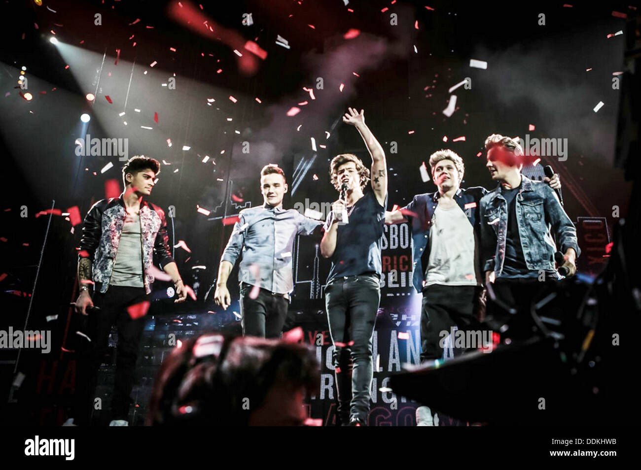 ONE DIRECTION: THIS IS US  2013 TriStar film - Stock Image