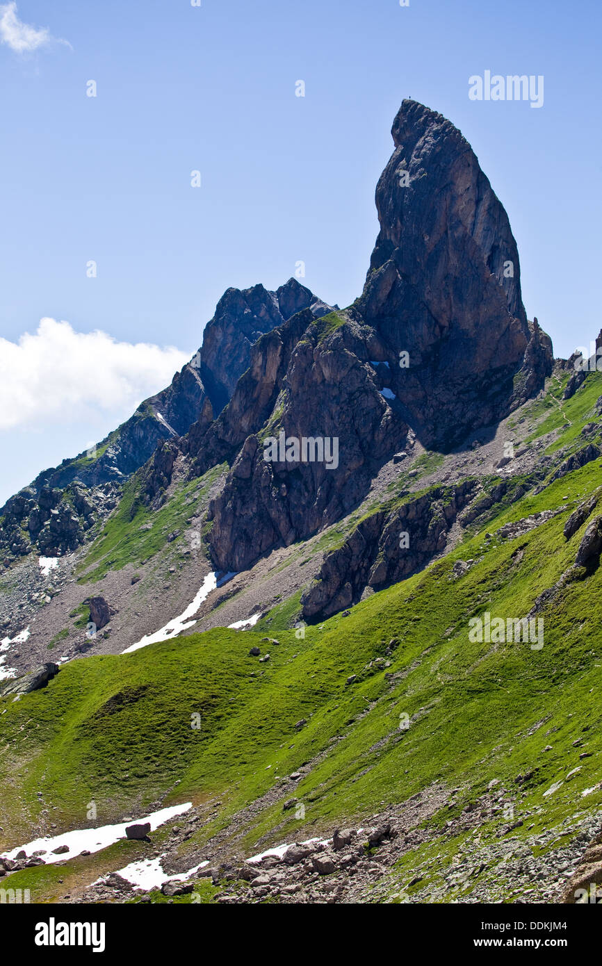Pierre Menta,Beaufortain (French Alps) - Stock Image