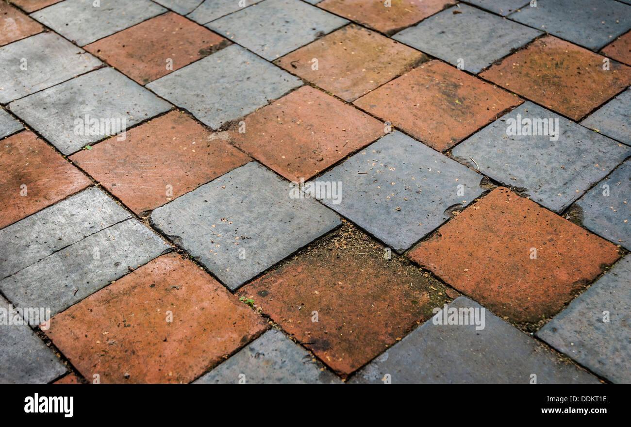 Checkered Mosaic Tile Stock Photos Checkered Mosaic Tile Stock