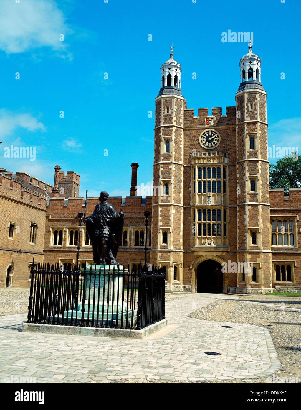 Eton College, Eton, Berkshire, UK - Stock Image