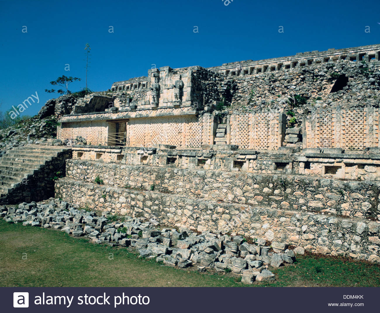 Palace of the Masks, Kabah, Yucatan, Mexico. Artist: Dr Stephen Coyne - Stock Image