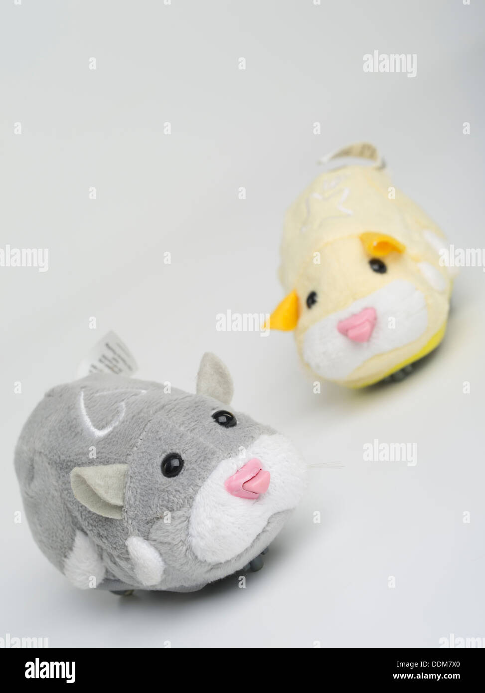 Zhu Zhu Pets by Cepia LLC Robotic hamster toys that were at Christmas 2009 craze - Stock Image