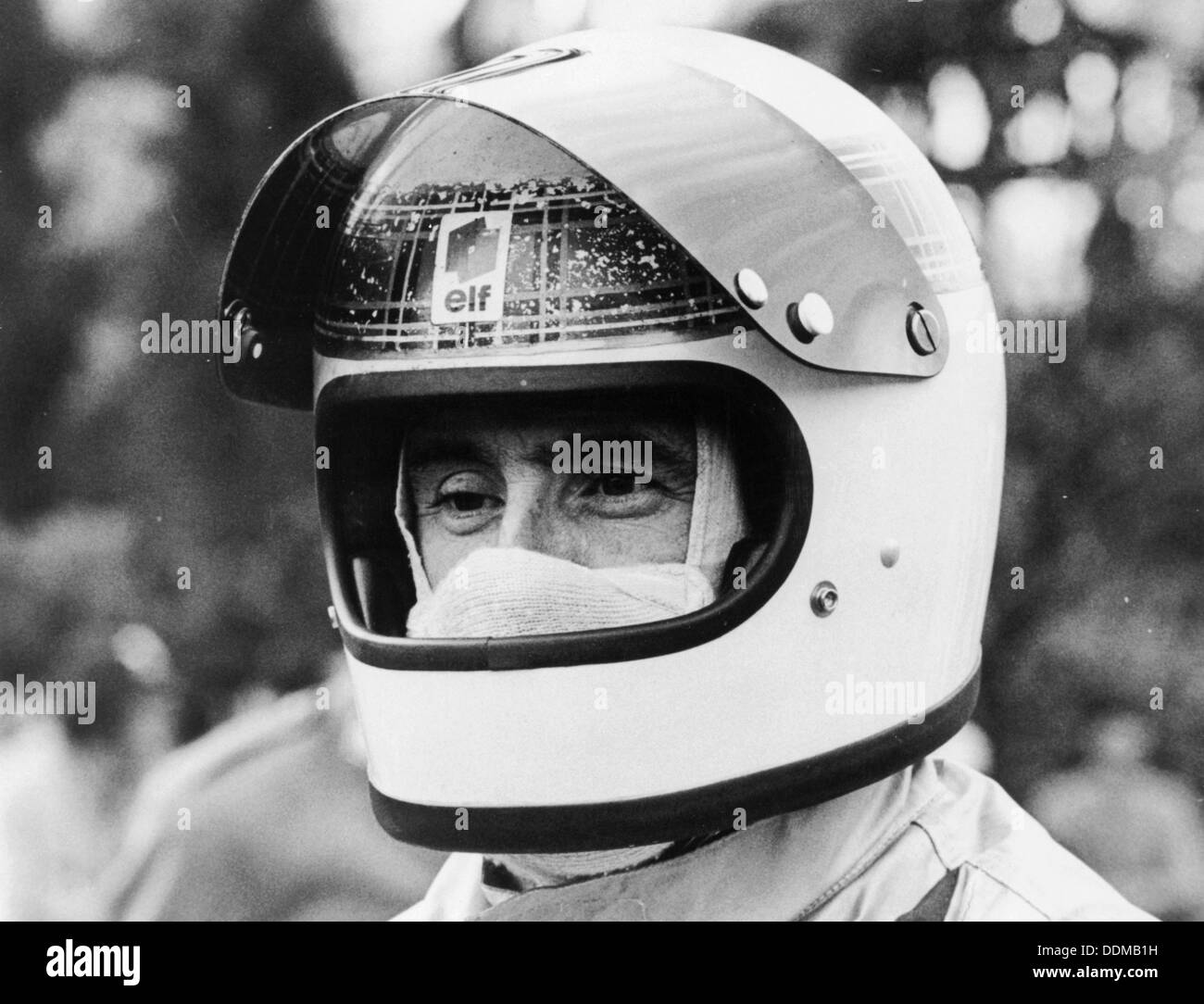 Jackie Stewart, early 1970s. - Stock Image