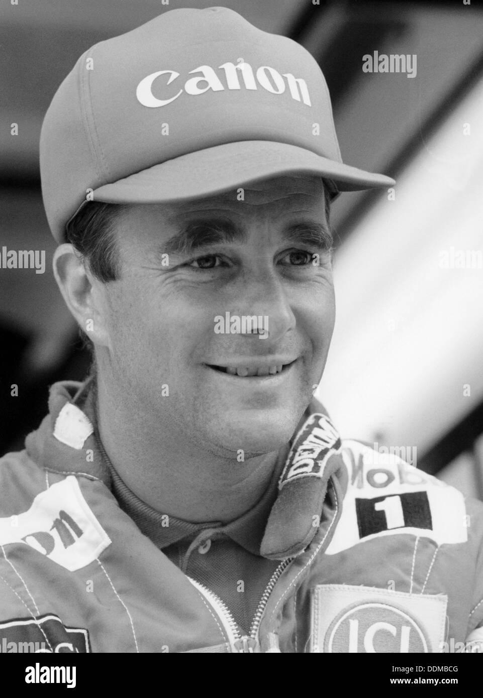 Nigel Mansell, c1985-c1992. - Stock Image
