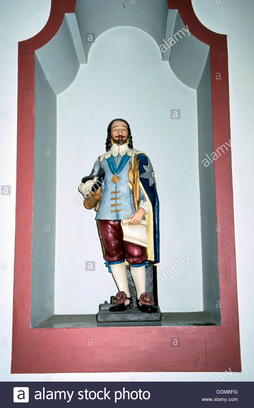 King Charles the Martyr, Walsingham, Norfolk. Artist: J AllenStock Photo