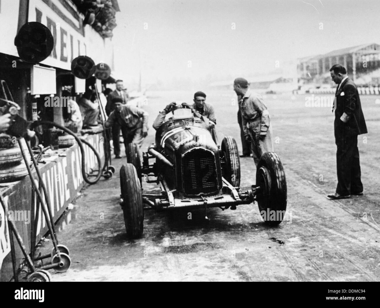 Italian Grand Prix, Monza, 1933. - Stock Image