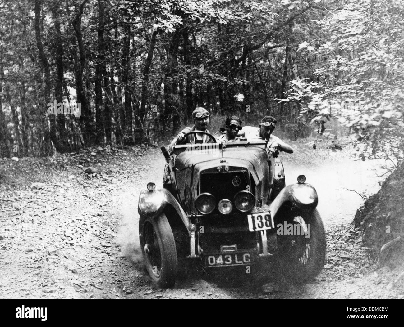 Marcus Chambers driving an RM Sport in a Brighton-Beer trial, c1925. - Stock Image