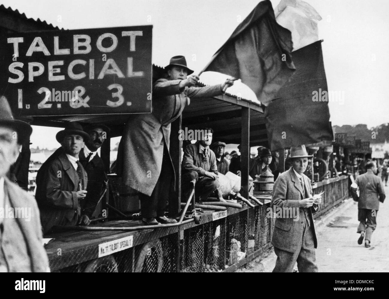 The RTS British Grand Prix, Brooklands, Surrey, 1927. - Stock Image