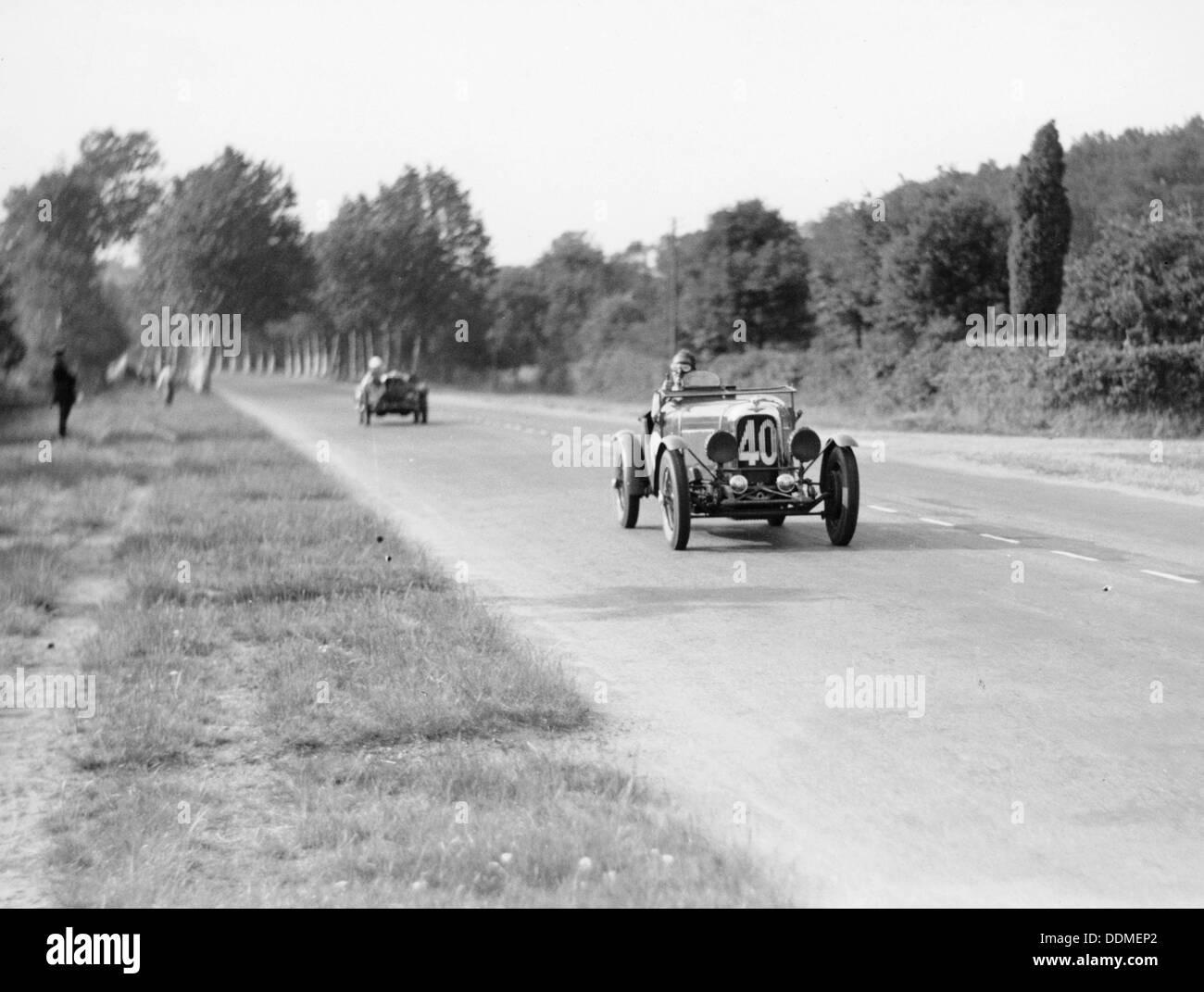 Lagonda Rapier Special, Le Mans 24 Hours, 1934. - Stock Image