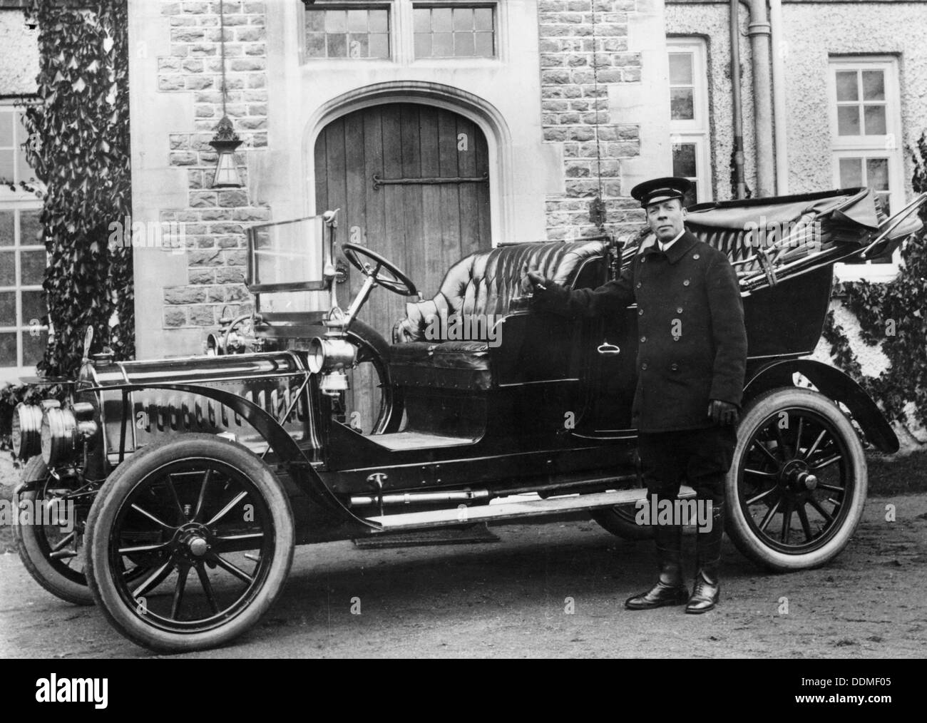 1908 De Dion Bouton model. - Stock Image