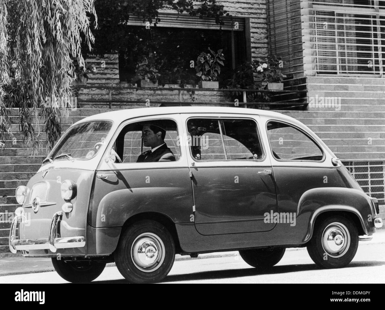 1963 Fiat 600 Multipla, (c1963?). - Stock Image
