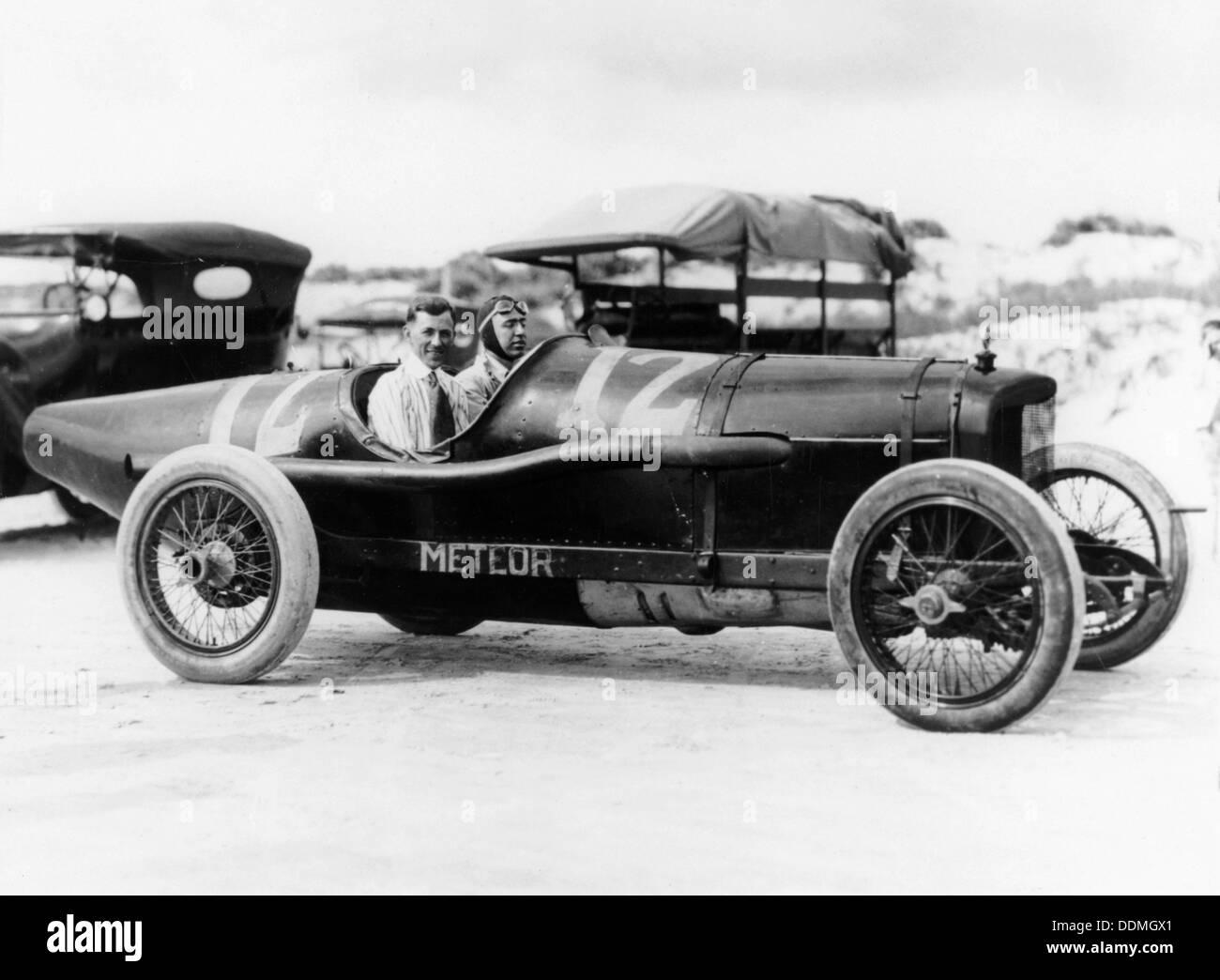 Jimmy Murphy in Duesenberg racing car, c1920. - Stock Image