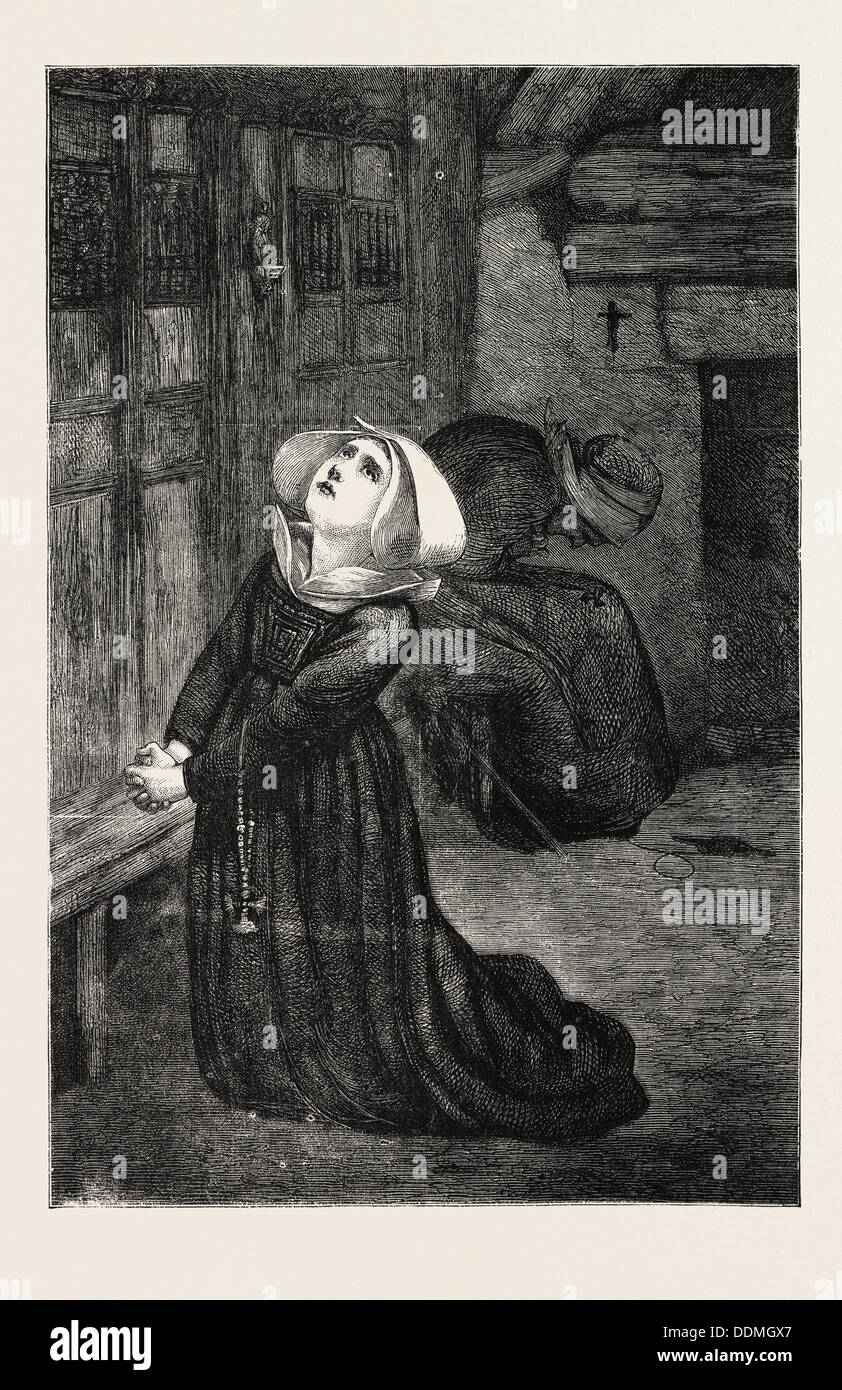 FRANCO-PRUSSIAN WAR: PRAYERS FOR PEACE, 1870 - Stock Image